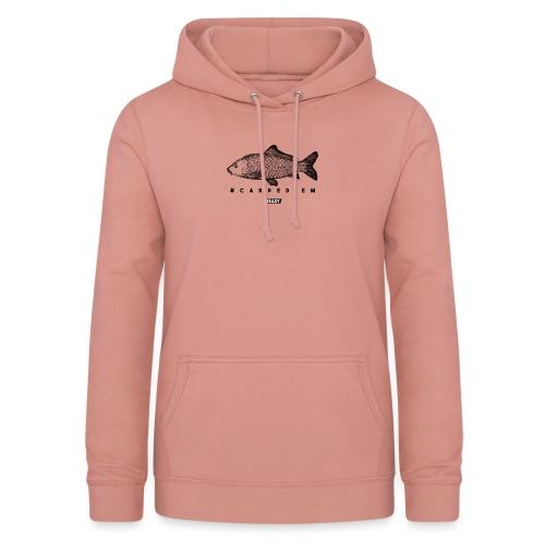 #EASY Carpe Diem T-Shirt - Felpa con cappuccio da donna