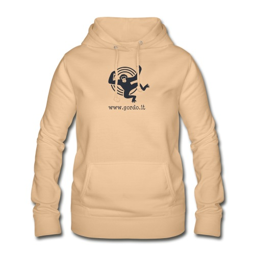 Psychedelic Ape - Gordo collection promotional - Felpa con cappuccio da donna