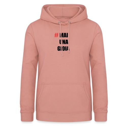 MAGLIA_1 - Felpa con cappuccio da donna