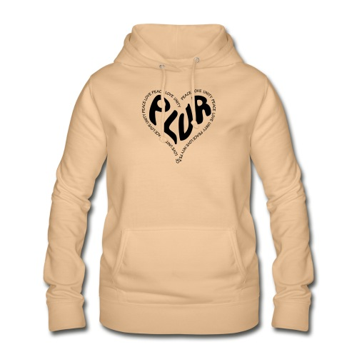PLUR Peace Love Unity & Respect ravers mantra in a - Women's Hoodie