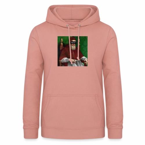 Pope holy sh*t - Felpa con cappuccio da donna