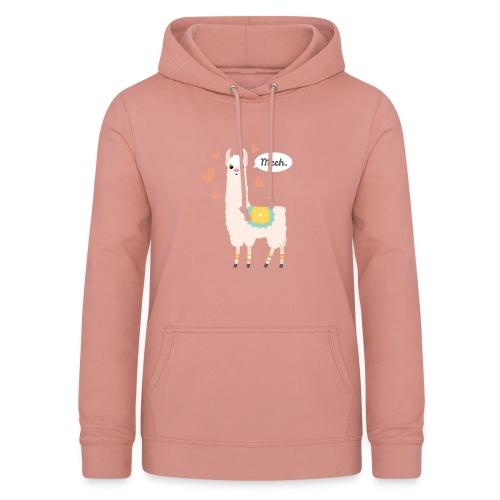 alpaka hoodie - Frauen Hoodie