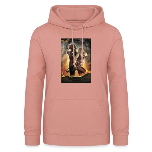 Rapeel and Terrina from Black Guild - Women's Hoodie