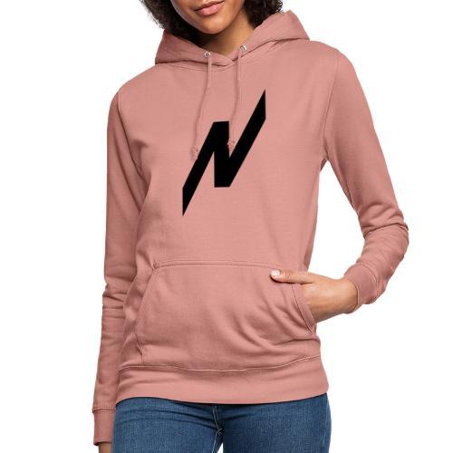 Nikyrez Black Symbol - Felpa con cappuccio da donna