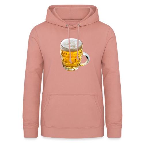 Boccale birra - Felpa con cappuccio da donna