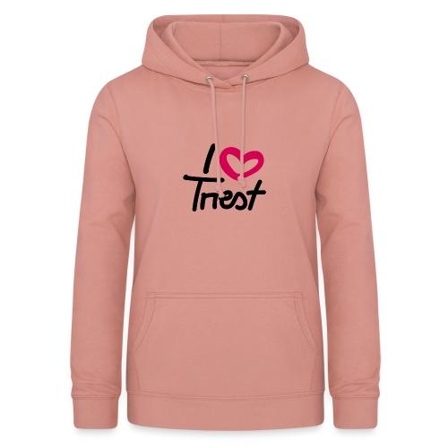 I love/heart Triest. - Frauen Hoodie