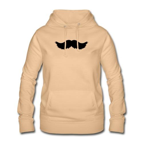 mostacho - Sudadera con capucha para mujer