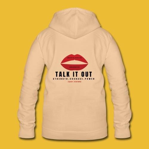 Mental Health Awareness (Talk It Out) - Women's Hoodie