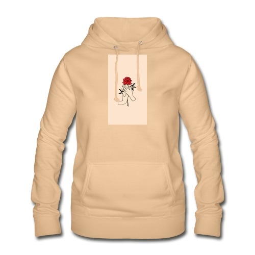 Piccolo rose - Dame hoodie