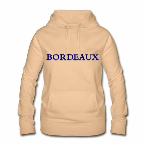 Bordeaux bleu - Women's Hoodie