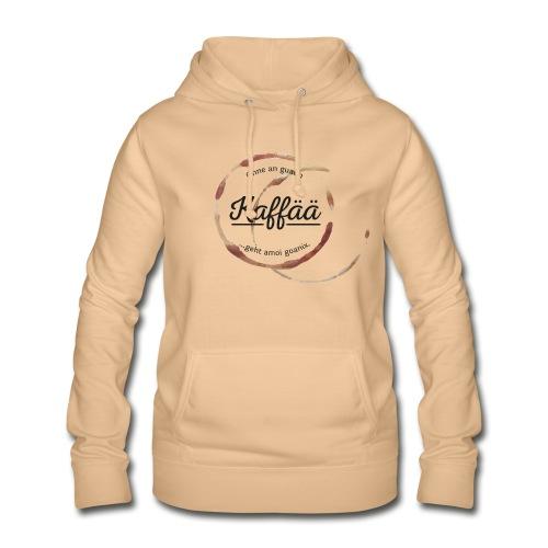 Vorschau: A guada Kaffää - Frauen Hoodie