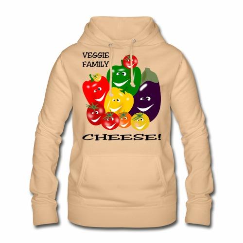 Veggie Family - Cheese - Women's Hoodie
