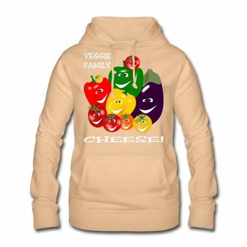 Veggie Family - Cheese! - Women's Hoodie