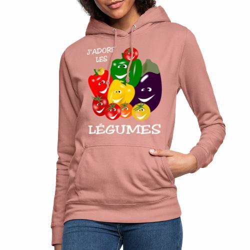I love vegetables - Women's Hoodie