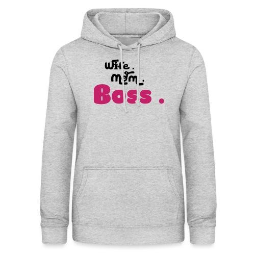 Ehefrau Mutter Boss - Frauen Hoodie