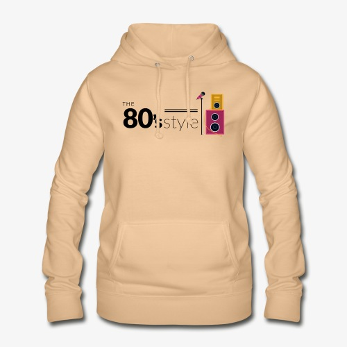 80s - Sudadera con capucha para mujer
