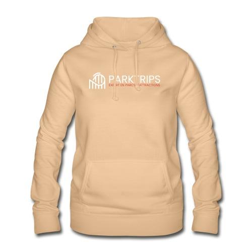 Park Trips - Logo Blanc - Sweat à capuche Femme