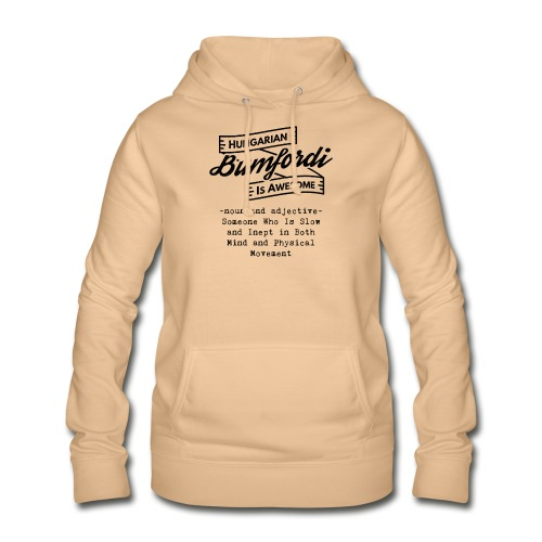 Bumfordi - Hungarian is Awesome (black fonts) - Women's Hoodie