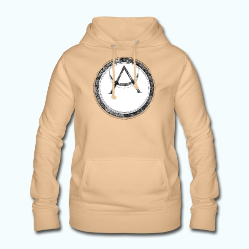 Mystic motif with sun and circle geometric - Women's Hoodie