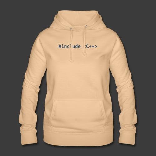 Blue Include Logo - Women's Hoodie