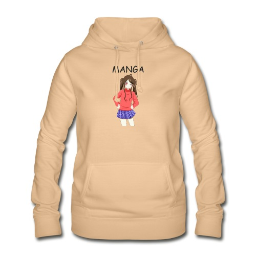 Anime girl 02 Text Manga - Frauen Hoodie