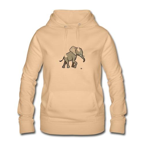 Éléphant d'Afrique - Sweat à capuche Femme