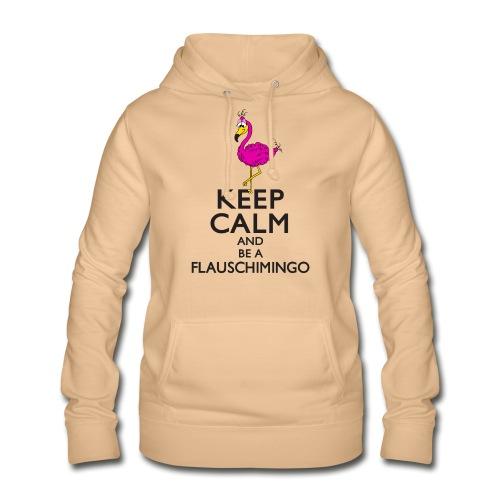 Keep calm and be a Flauschimingo - Frauen Hoodie