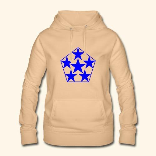 5 STAR Sterne blau - Frauen Hoodie