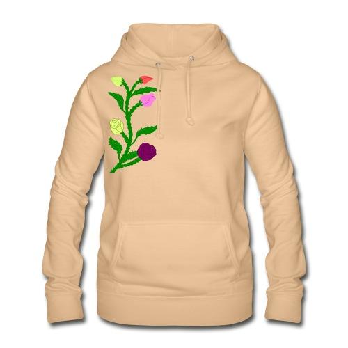 fleurs - Sweat à capuche Femme