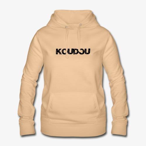koudou texte - Sweat à capuche Femme