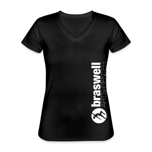 Braswell Arts Center - Classic Women's V-Neck T-Shirt