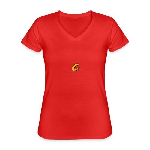 Chuck - T-shirt classique col V Femme