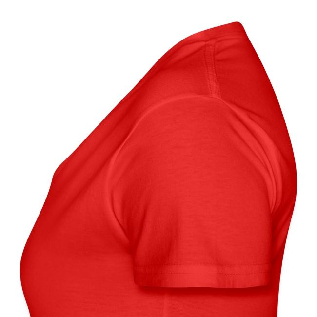 Vorschau: cat pocket - Klassisches Frauen-T-Shirt mit V-Ausschnitt