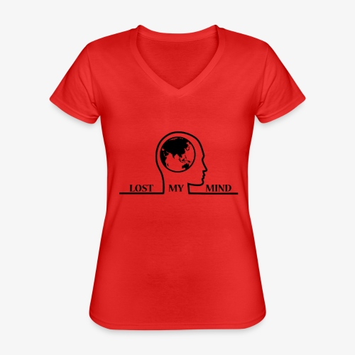 LOSTMYMIND - Classic Women's V-Neck T-Shirt
