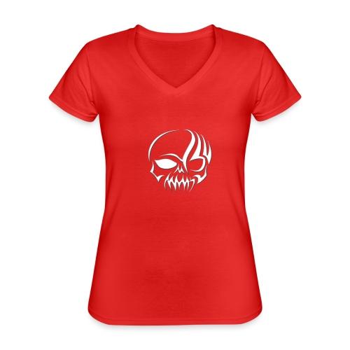 Designe Shop 3 Homeboys K - Klassisches Frauen-T-Shirt mit V-Ausschnitt