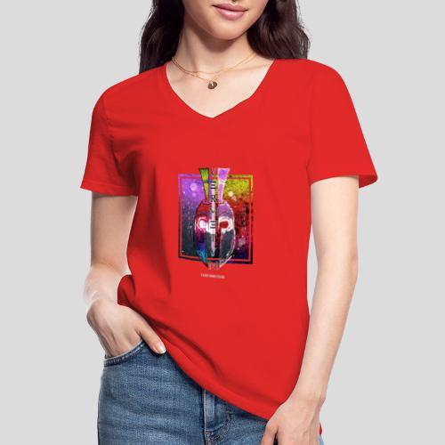 VERMETUM GLADIATOR EDITION - Klassisches Frauen-T-Shirt mit V-Ausschnitt