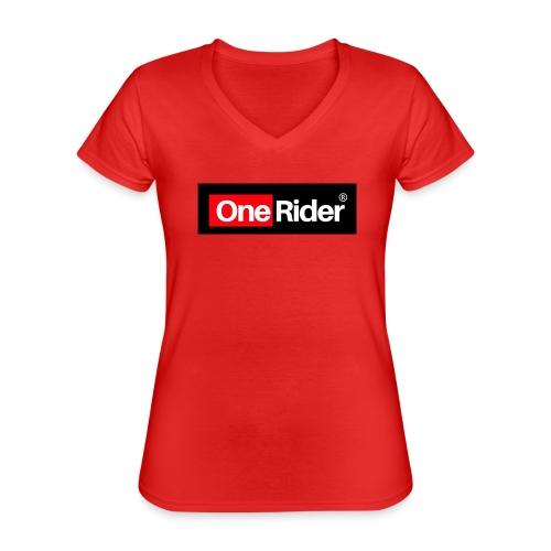 Colección OneRider® - Camiseta clásica con cuello de pico para mujer
