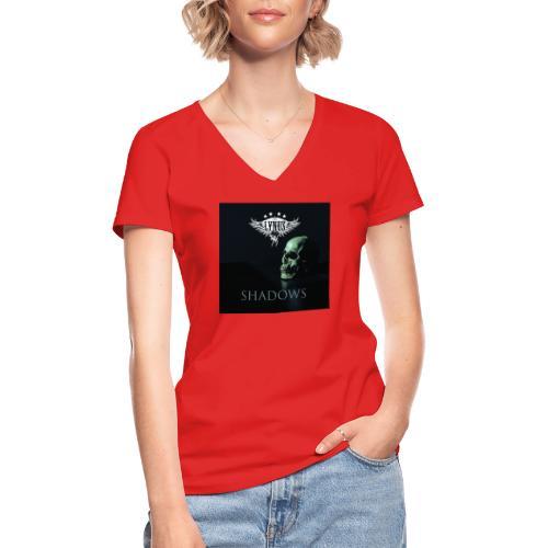 Lynus Shadows EP Art Promo Design - Classic Women's V-Neck T-Shirt