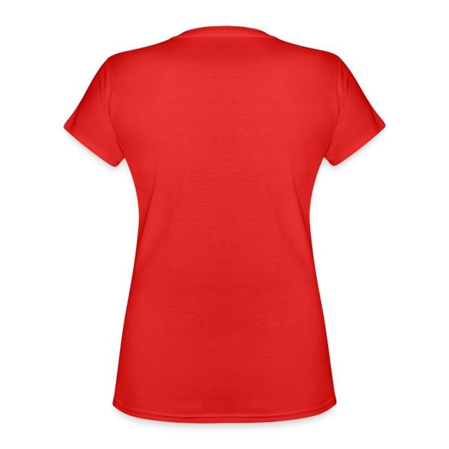 Vorschau: Katzen Mama - Klassisches Frauen-T-Shirt mit V-Ausschnitt