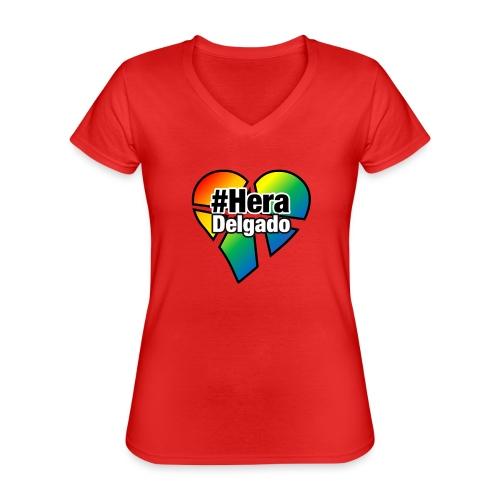 #HeraDelgado - Klassisches Frauen-T-Shirt mit V-Ausschnitt