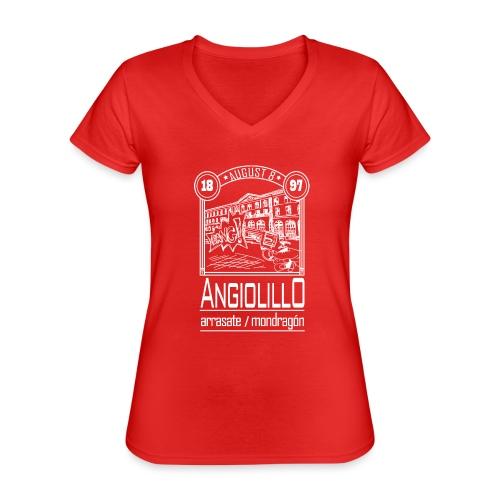 Magnicidio - Camiseta clásica con cuello de pico para mujer