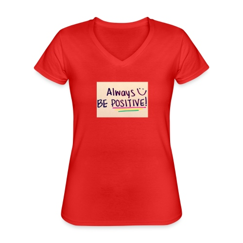 Bamse - Klassisk dame T-shirt med V-udskæring