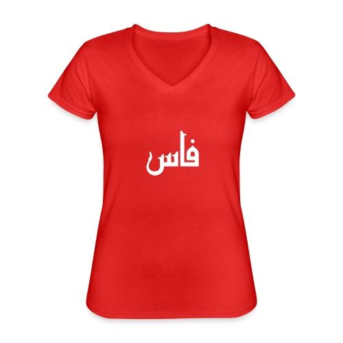 tamaz - T-shirt classique col V Femme