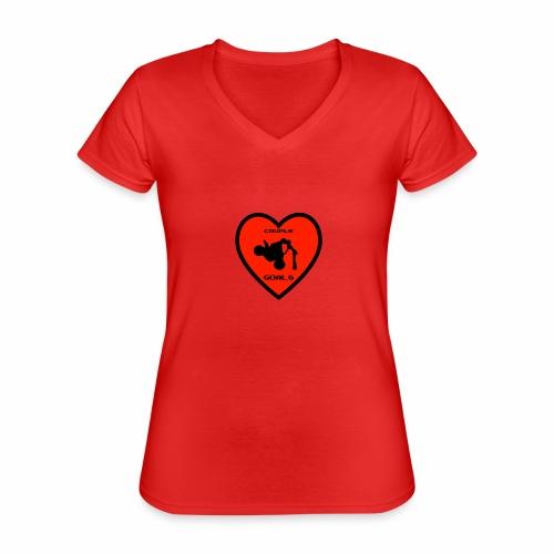 Couple Goals <3 - Maglietta da donna classica con scollo a V