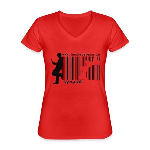 syn2cat hackerspace - Classic Women's V-Neck T-Shirt