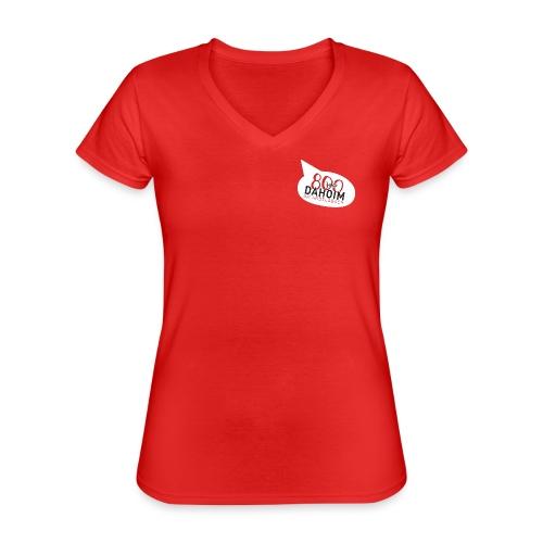 Dahoim am Andelsbach - ROT - Klassisches Frauen-T-Shirt mit V-Ausschnitt