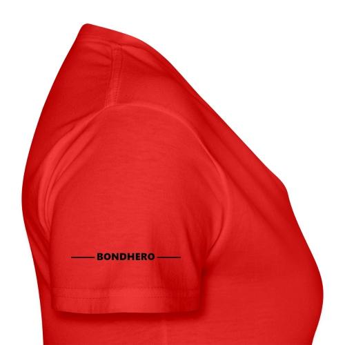 BONDHERO - Klassiek vrouwen T-shirt met V-hals