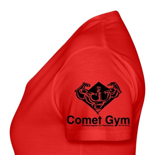 Comet Gym r4 - Klassisk T-shirt med V-ringning dam