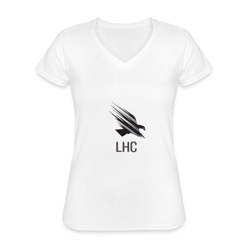 LHC Dark Logo - Classic Women's V-Neck T-Shirt