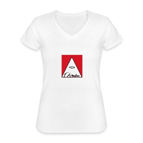 theodoo 1 - Klassisk T-shirt med V-ringning dam